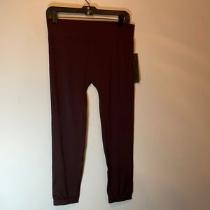 NWT Boutique New Mix brown leggings